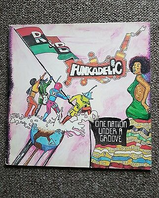 FUNKADELIC One nation under a groove vinyl record LP ( USA)