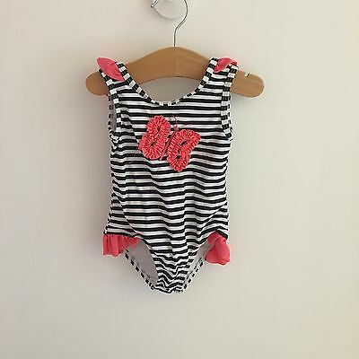 Baby Girl Primark Butterfly Swimsuit 9-12 Months