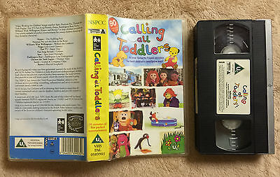 Calling All Toddlers - Postman Pat, Tots Tv, Fun Song Factory, Sooty - Vhs Video