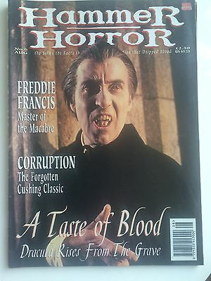 HAMMER HORROR Magazine No 6 - Dracula Has Risen from the Grave - Corruption