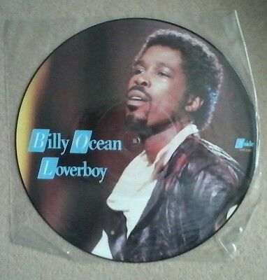 Billy Ocean 12ins Loverboy picture disk