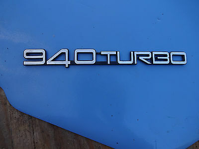 Vintage Volvo 940 Turbo 90's Emblem Decal