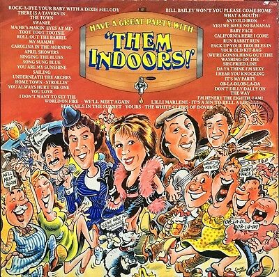 Them Indoors-Have A Great Party With Them Indoors LP-INNOVATIVE, IMP 2000, 1984,