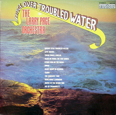 Larry Page Orchestra, The*-Bridge Over Troubled Water LP-Contour, 2870-307, 1970