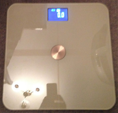 WITHINGS Wi-Fi Smart Body Scale WBS01 White
