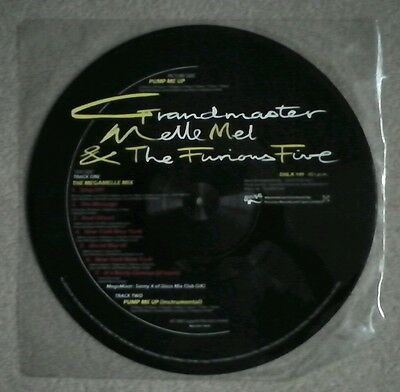 Grandmaster Melle Mel and the Funious Five, 12ins  Picture disk