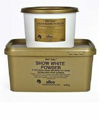 Gold Label Show White Powder 500g or 2.5kg For Show Horses and ponies INC P & P