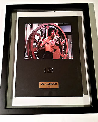 Bruce Lee Exclusive Senitype film cell, new with floating frame.