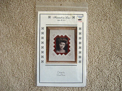 Framed in Lace Hardanger Pattern Designs by Rose Marie
