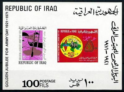 IRAQ Golden Jubilee  Army Day SG# MS 933 S SC  580a Sheet MNH