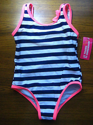 Primark Young Dimension Girl Swimsuit 1.5 to 8 Years Lined