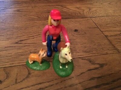 Tractor Tom Farmer Fi, Purdey the cat & Riff the dog figures-more Listed