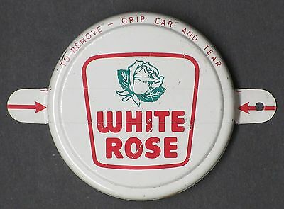 White Rose Oil Metal Barrel Cap