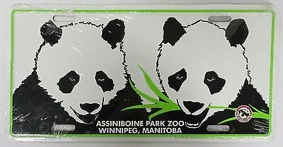 Panda License Plate - Assiniboine Park Zoo, Winnipeg, MB