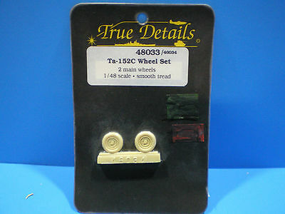 True Details Ta-152C Wheel set 1:48 scale #48033
