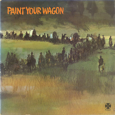 Soundtrack / Various-Paint Your Wagon (Music From The Soundtrack) LP-Paramount R
