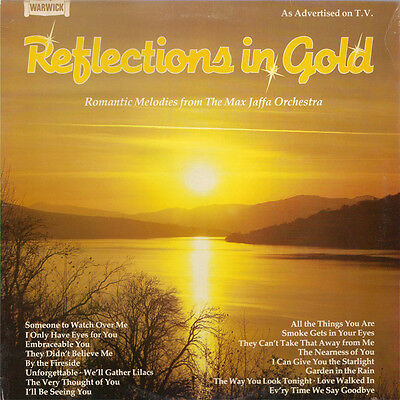 Max Jaffa Orchestra, The-Reflections In Gold LP-Warwick Records, WW5090, 1980, 1