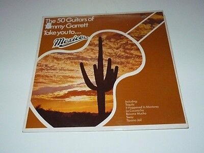 50 Guitars Of Tommy Garrett, The-Take You To...Mexico LP-Sunset Records, SLS 503