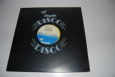 Len Boone, Theres no me without you 12inch single, Disco 1979 yellow vinyl