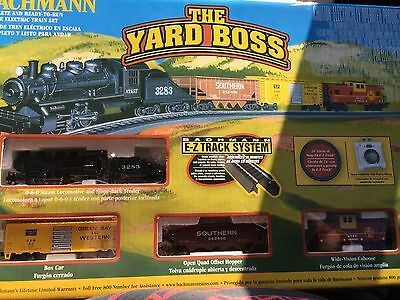 Bachmann The Yard Boss N Scale Ready to Run Electric Train Set - New- Sealed -