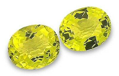 Best Lime Green PRASIOLITE Oval Checkerboard Facet 17x13 mm 12.55 CT