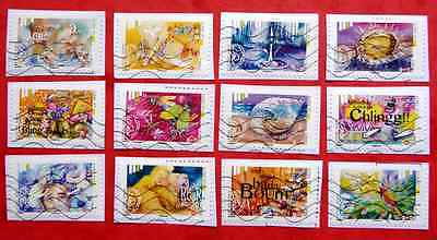 Timbres France Obliteres 2016 - Serie L'ouie Complete