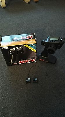 Sanwa MX-V RC Car 2.4Ghz Transmitter With two Receivers.