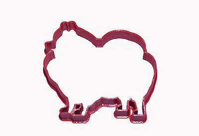 Pomeranian cookie cutter cute dog biscuit pastry icing cutout 3d printed in UK