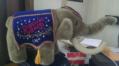 Ringling Bros., Barnum & Bailey Circus 130th Anniversary  Elephant With Tag