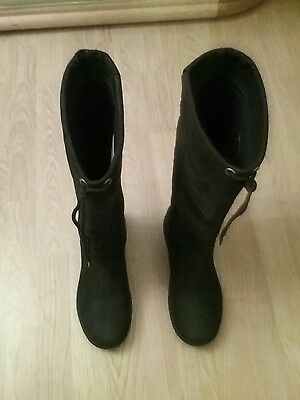 Dublin Size 7  Black Waterproof River  Leather Country Boots