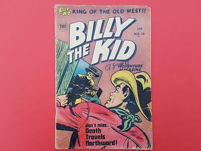 Billy The Kid #19 Toby Comics 1953