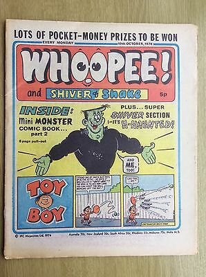 WHOOPEE! Comic + 8-page PULLOUT - PART TWO of Frankie Stein Comic - 19 Oct 1974