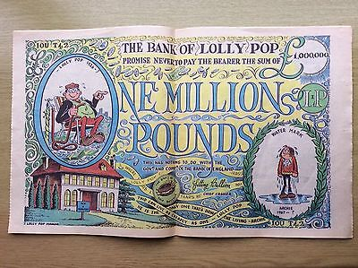 WHOOPEE! Comic + Pull-out BANK of LOLLY POP POSTER - 19 June 1976
