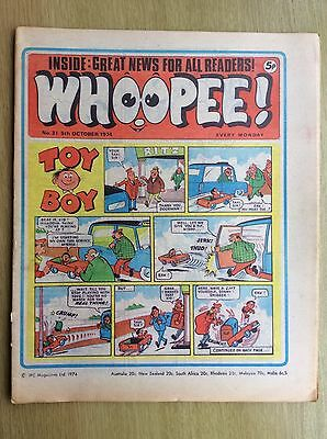 WHOOPEE! Comic - Issue No. 31 - 1974