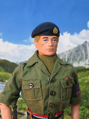 Vintage Action Man RAF Regiment Air Police Custom Figure from the mid 1970s