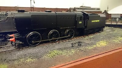 Hornby OO gauge SR Q1 in good condition DCC sound fitted (generic American chip)