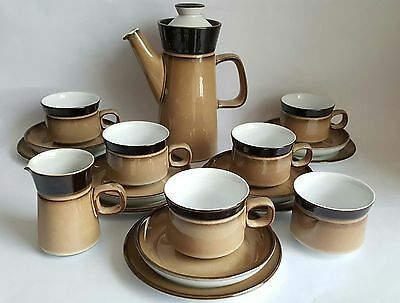 Vintage Denby Country Cuisine Coffee Set