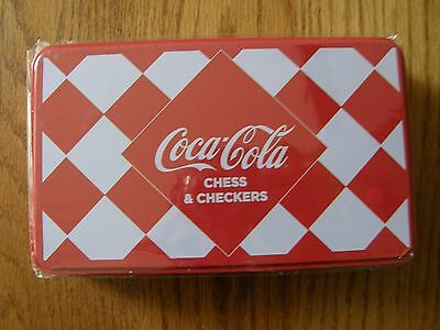 Coca Cola Chess & Checkers set - Great Gift/Toy-Unopened