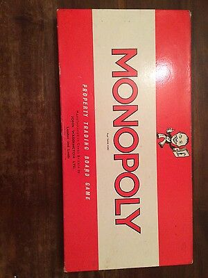 1961 Monopoly Board Game Waddingtons
