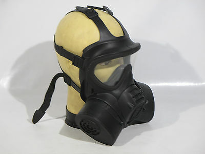 British Army GSR Gas Mask Respirator Size 4 MTP Field Pack & Guide Used Grade 1