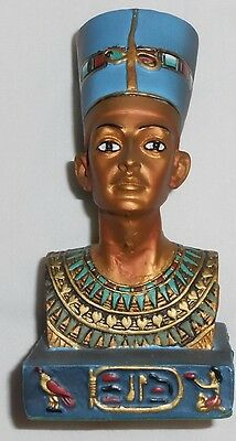 Beautiful New Hand-Crafted Ancient Egyptian Queen Nefertiti Figurine From Displa