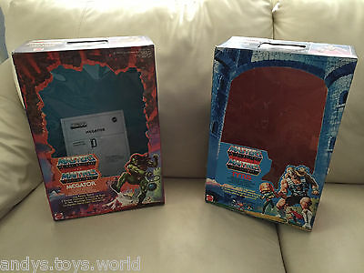 Masters Of The Universe Tytus And Megator Repro Box Complete - Perfect New !