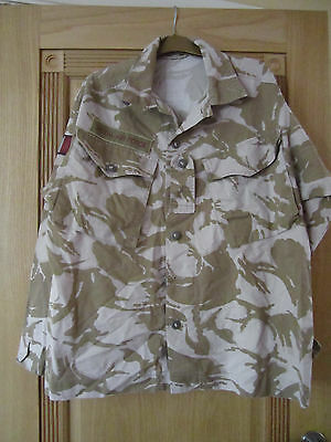Army Combat Jacket Tropical Desert Dpm Size 170/104 Used, Excellent Condition