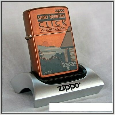 Zippo Smoky Mountains Click 2009 26/100 with signatures G.Booth and B.Wilhoite