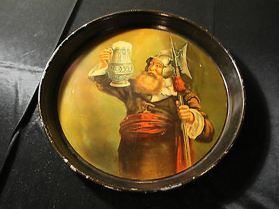 Brewing Co Tin Lithograph Advertising Serving Beer Tray Litho
