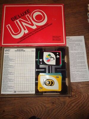 Deluxe Uno Game - Canada Games 1984 - Complete
