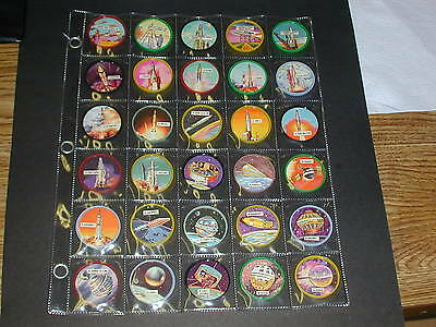 Complete Set of 69 Space Orbit Coins - NrMt - Mint A rare set in this condition