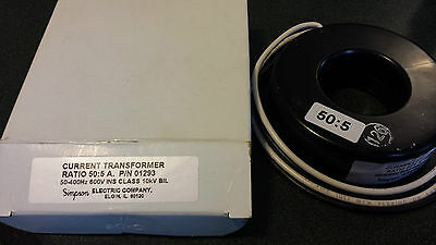 Simpson Electric Company. 50:5 Current Transformer P/N01293