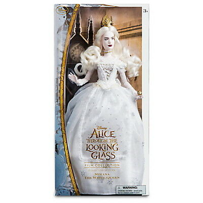 Disney Mirana White Queen Film Collection Doll Alice Through the Looking Glass