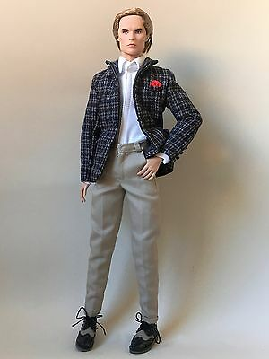 Fashion Royalty Ifdc Convention Marius Lancaster Professor Young Nude Doll 12""